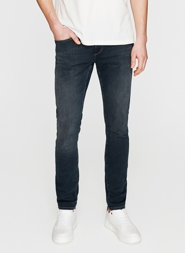 Mavi Mavi James Jet Black Denim Pantolon Renksiz